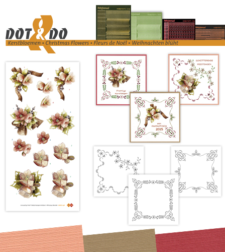 Dot & Do 36 - Kerstbloemen