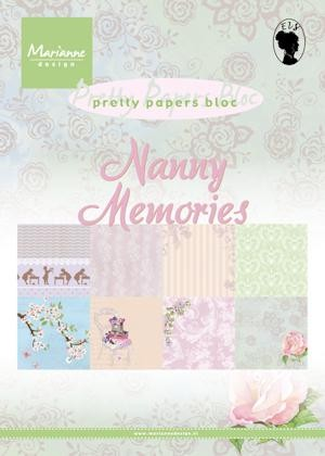 Pretty Papers bloc Nanny memories