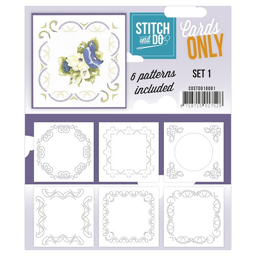 Stitch & Do - Cards only - set 1