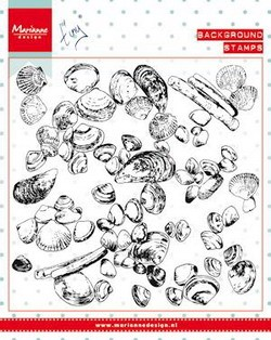 Clear Stamp Tiny`s background sea shells
