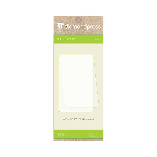 Diamant Pers Diamond Press - Blanco folder maat B