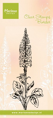 Clear Stamp Tiny`s foxglove