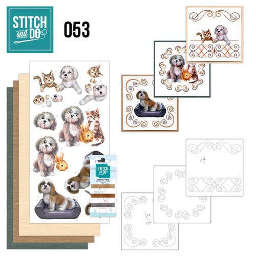 Stitch and Do 53 - Huisdieren