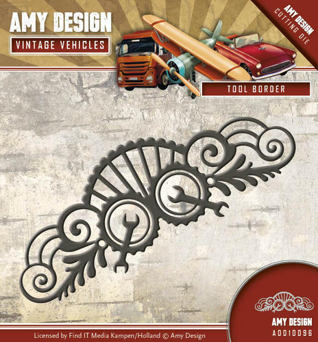 Die - Amy Design - Vintage Vehicles - Tool Border