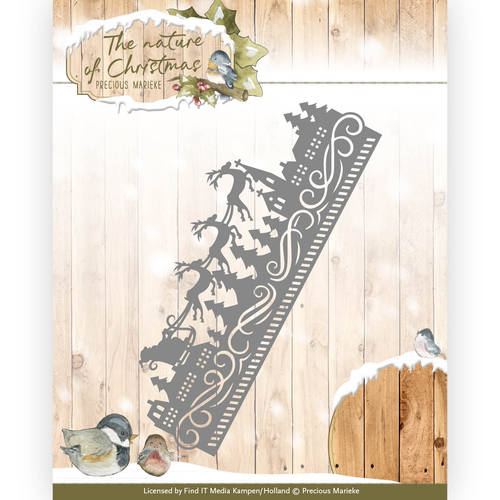 Die - Precious Marieke - The nature of Christmas - Christmas Border