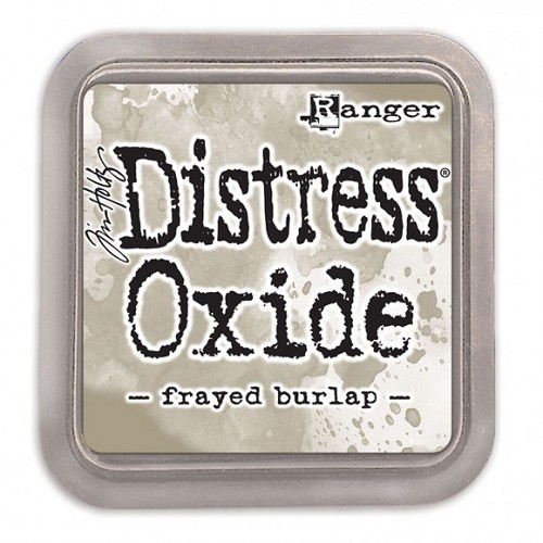 Ranger Tim Holtz distress oxide frayed burlap
