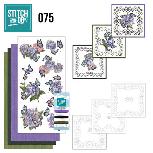 Stitch and Do 75  Amy Design - Hortensia