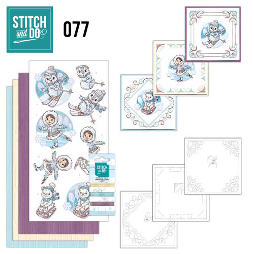 Stitch and Do 77 - Winter Fun