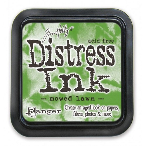 Tim Holtz mini distress ink pad mowed lawn