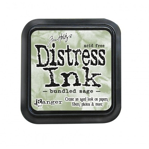 Tim Holtz mini distress ink pad bundled sage