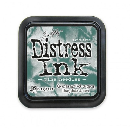 Tim Holtz distress ink pad pine needles
