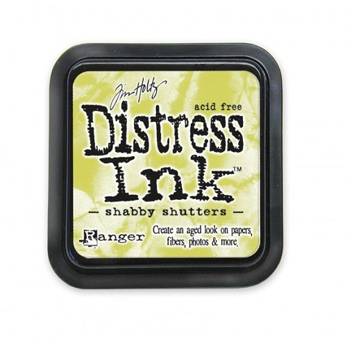 Tim Holtz mini distress ink pad shabby shutters