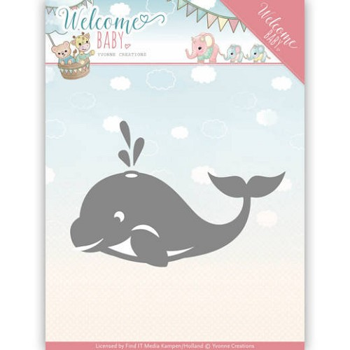 Dies - Yvonne Creations - Welcome Baby - Little Orca