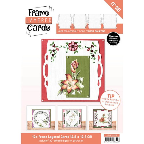 Frame Layered Cards 26 - 4K