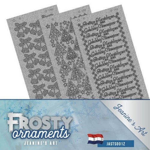 Stickerset - Jeanine's Art - Frosty Ornaments - NL