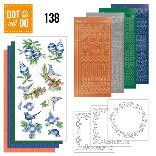 Dot and Do 138 Blue Christmas