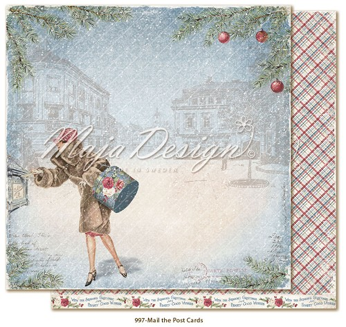 Christmas Season - Mail the postcards