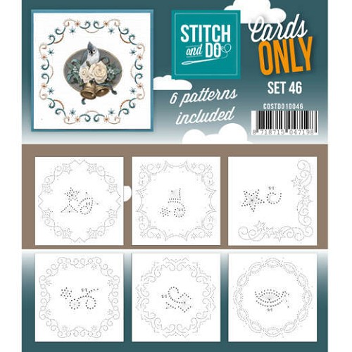 Cards only Stitch 46