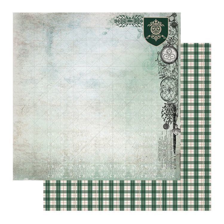 Paper - 12 x 12in - Gentleman's Emporium Sheet 8