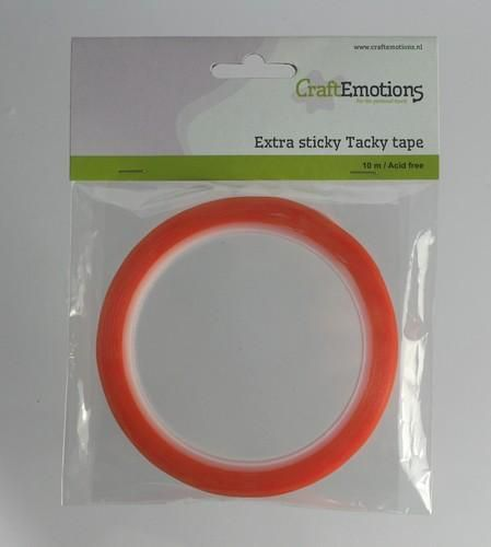 CraftEmotions Extra sticky tape 6 mm 10 MT  1 RL 3.3186