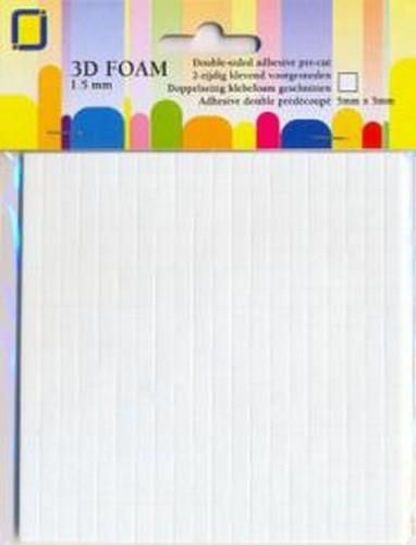 JeJe Foam dots 1,5 X 5 x 5 mm  1 PK 3.3115