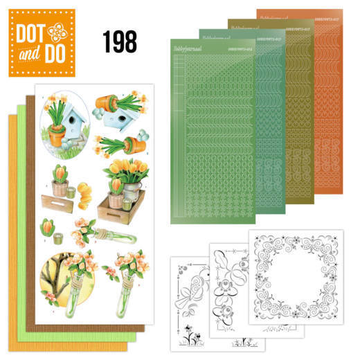 Dot and Do 198 - Jeanine's Art - Welcome Spring