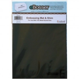 Cut n Boss Shim & Rubber Mat Set