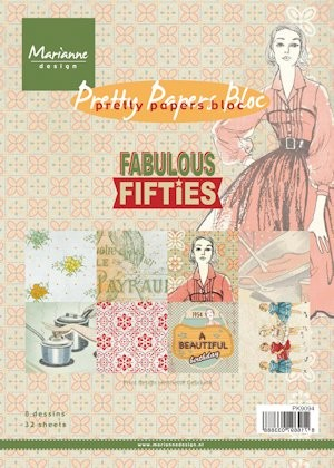 Pretty Papers bloc Fabulous Fifties