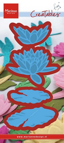 Creatables stencil Tiny`s waterlily (L)