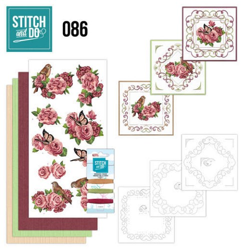 Stitch and Do 86 - Birds and Roses